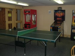 recreation center game room