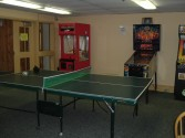 Recreational center game room